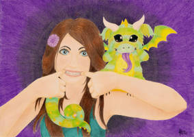 Just Me and my Dragon - Updated by Dragons-Garden