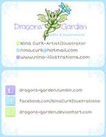 Business card - Dragons' Garden by Dragons-Garden