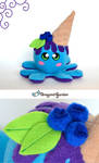 BlueBerry Plush by Dragons-Garden