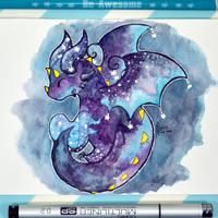 Galaxy Dragon by Dragons-Garden