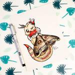 Dragons' Garden - Smaugust 1 Moth Dragon
