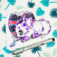 Dragons' Garden - Smaugust 2 Mineral Hatchling by Dragons-Garden