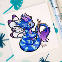 Dragons' Garden - Smaugust 16 Dragonfly Dragon by Dragons-Garden