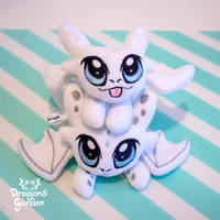 Dragons' Garden - Light Fury Plushies