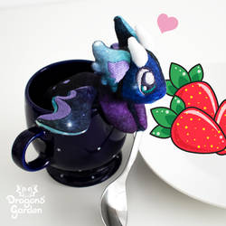 Dragons' Garden - Tiny Nebula Galaxy Dragon Plush by Dragons-Garden