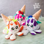Dragons' Garden - Squiddy Cakes Group