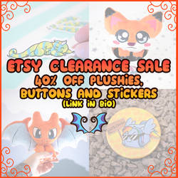 Etsy Sale by Dragons-Garden