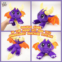 ITH Embroidery Pattern Spyro the Dragon