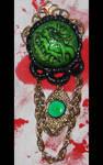 Absinthe Fairy Gothic Brooch