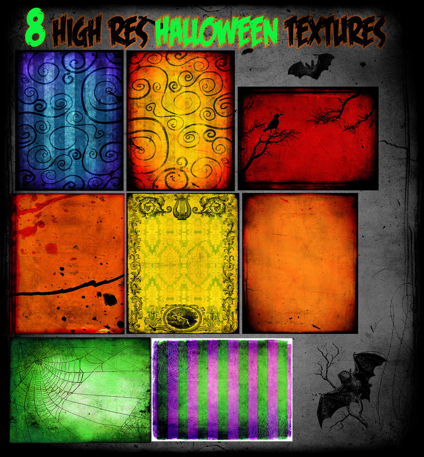 Halloween Texture Pack by asunder