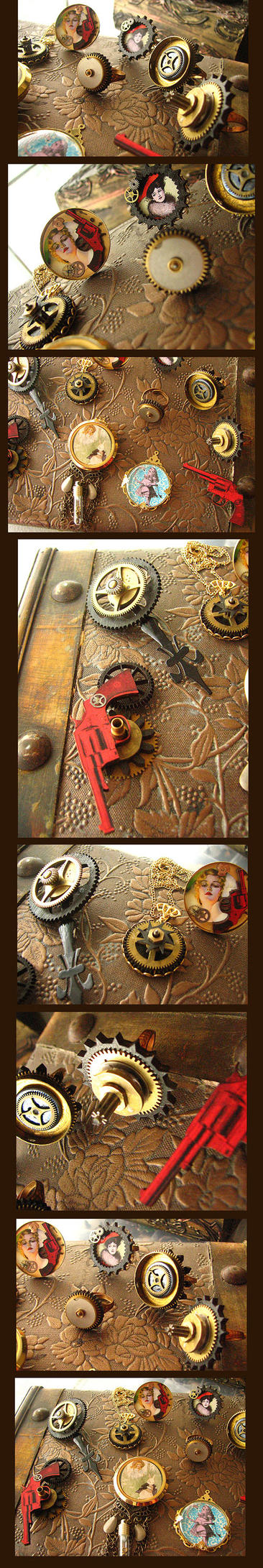 Steampunk Jewelry- COMING SOON by asunder