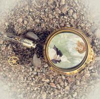 Alice in Wonderland Steampunk by asunder