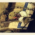 Steampunk Keepsakes Necklace