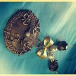 Pocket Watch Charm Necklace