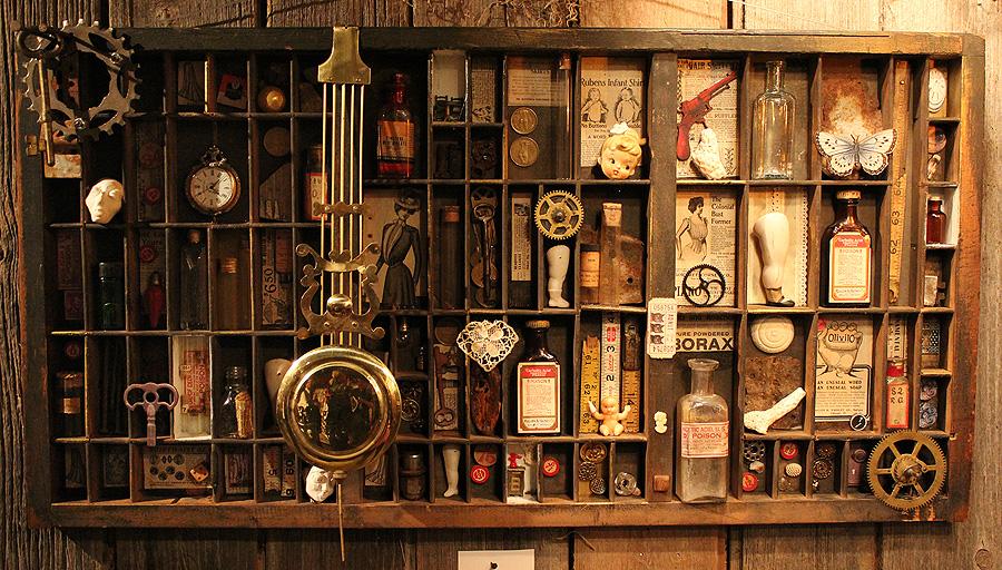 Victorian Steampunk Curios by asunder