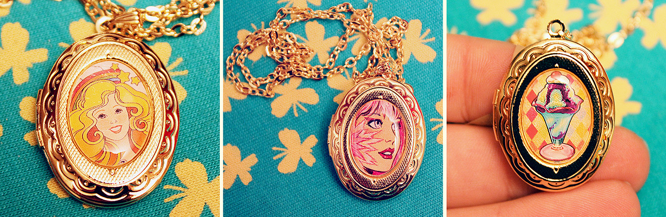 New Locket Necklaces by asunder