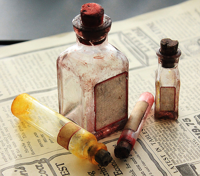 Altered Bottles by asunder