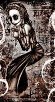 Skull Flower Girl fixed by asunder