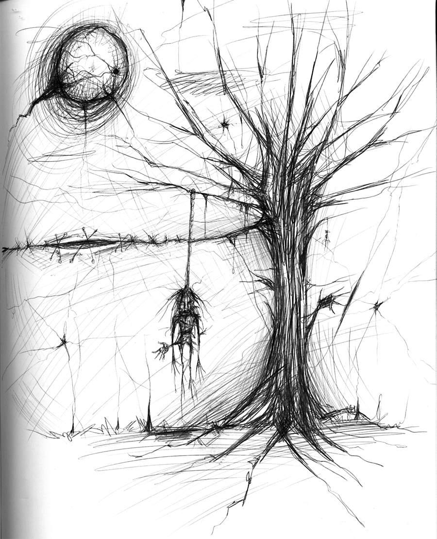 Weird scary hanging thing by asunder on deviantart for Cool drawing things