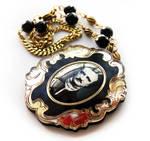 Edgar Allen Poe Necklace