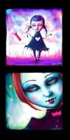 Paint BBS doodles