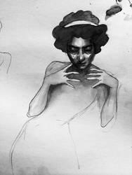 Ink sketch 3 by asunder
