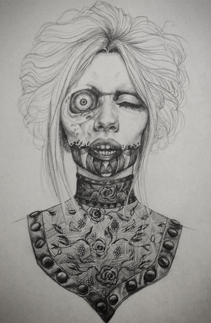 Victorian Zombie by asunder