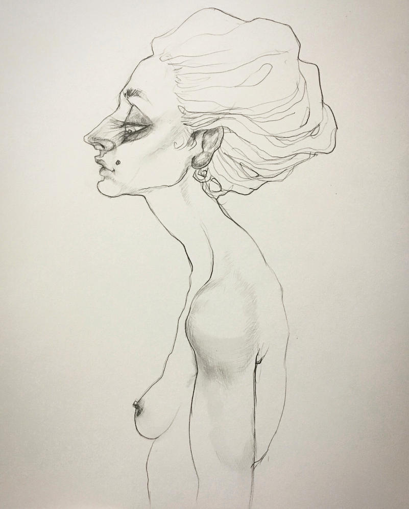 Pencil Figure by asunder