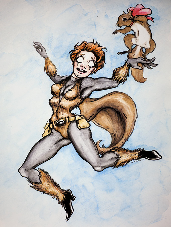 Squirrel Girl Fan Art by asunder