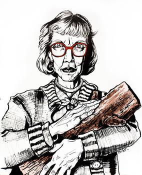 Log Lady - Happy Twin Peaks Day