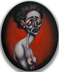 Disillusion - 20x24 Acrylic Painting on Canvas by asunder