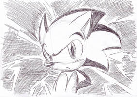 -.-angry-.-Sonic-.- by LeniProduction
