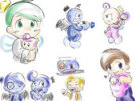FOP doodles by LeniProduction