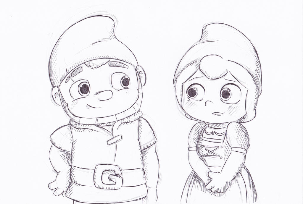 Gnomeo and Juliet by LeniProduction on DeviantArt