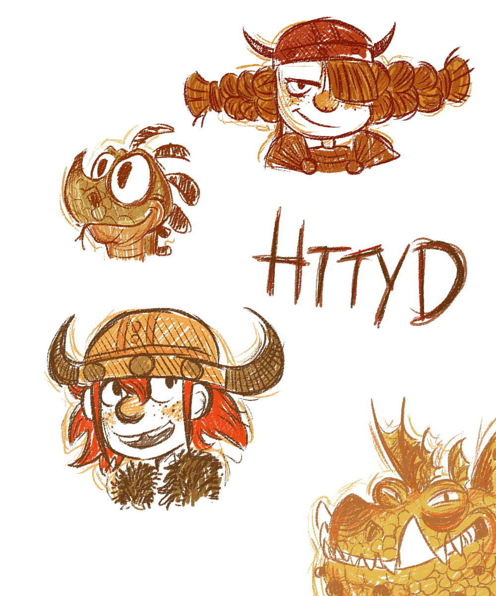 HTTYD Conzept Art by LeniProduction