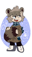 -Collab- Lil Raccoon Boy by LeniProduction