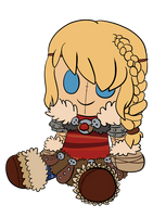 COMM: Astrid Plush by LeniProduction