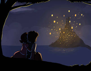 SS: Watching The Lights by LeniProduction