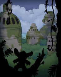 Secret Santa: Stitch In Atlantis by LeniProduction