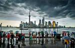 Shanghai's waterfront