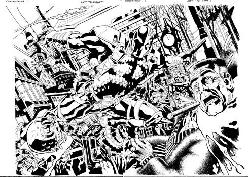 Deathstroke Issue 1 Page 2-3