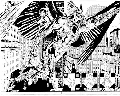 The Savage Hawkman Issue 9 Pages 2-3