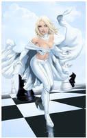 Emma Frost- Sean Ellery colored by aethibert