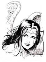 Dawnstar  From the Legion of Superheroes by aethibert