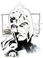 Magneto sketch for Free Comic Book Day by aethibert