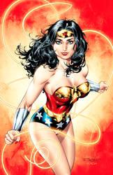 Wonder Woman Commission by aethibert