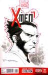 Wolverine sketch cover LBCC 2014