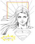 Supergirl doodle LBCC 2015