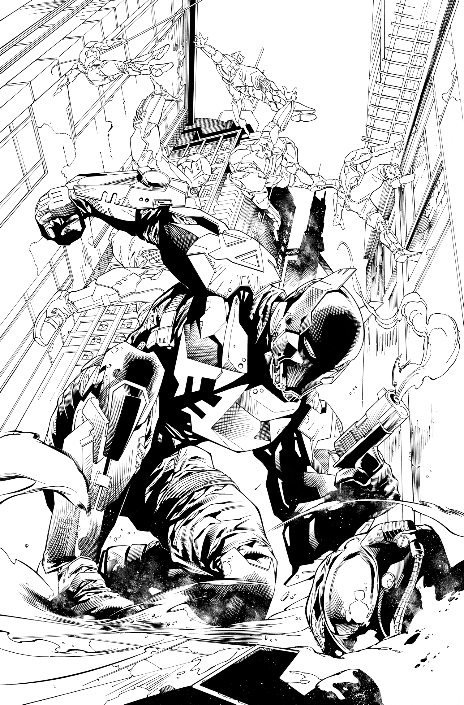 Batman Arkham Annual Page 4 by aethibert
