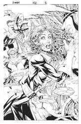 X-men #80 page by aethibert